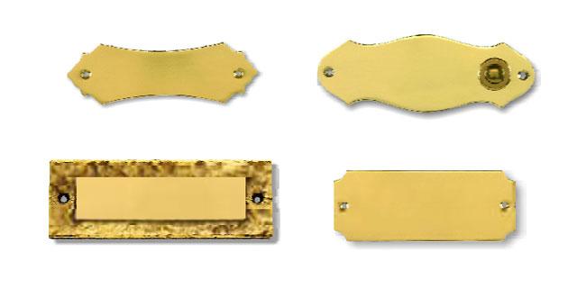 Mesingane pločice s imenom za vrata